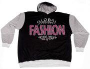 "Kapuzenshirt ""Global Fashion"""