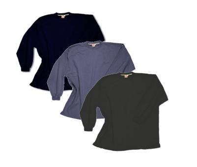 Kastensweatshirt im 3-er Pack