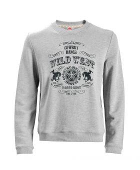 Übergrößen Sweatshirt Wild West