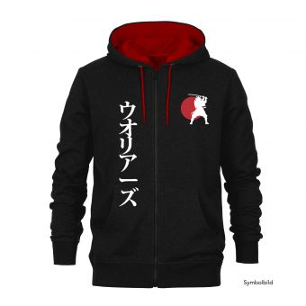 Kapuzen-Sweatjacke Samurai
