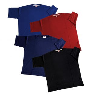T-shirt Basic 4er-Pack 4XL
