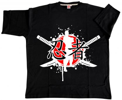 T-Shirt Japan schwarz