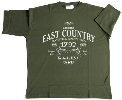 T-Shirt Kentucky armygreen