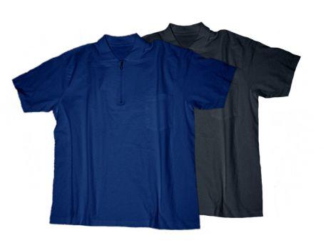 Polo T-Shirt marine und schwarz