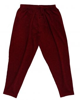 Jogginghose bordeaux melange bis 15XL !