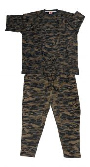 Jogginganzug Camouflage m. T-Shirt