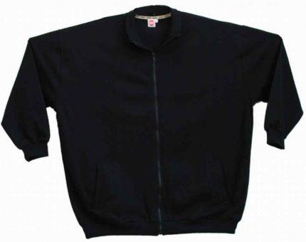 Sweat Blouson schwarz