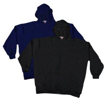 Kapuzensweatshirt mit Saumbündchen Doppelpack