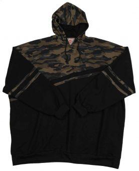 Kapuzensweatshirt Camouflage