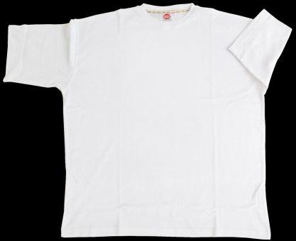 T-Shirt Basic weiß 3XL