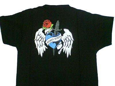 "T-Shirt ""Wings and Roses"""