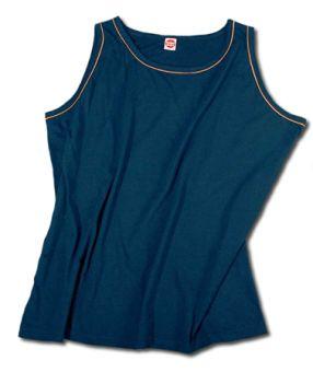 Trägershirt/Tanktop marineblau