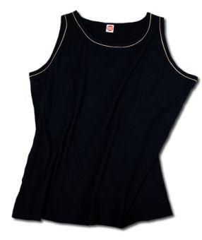 Trägershirt/Tanktop schwarz